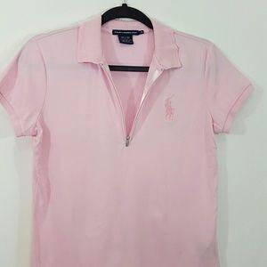 Ralph Lauren golf quarter zip polo shirt NWOT
